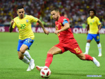 Brazil's own goal helps Belgium to semifinal in breathtaking clash