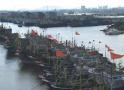 受台风影响浙江沿海明天风力达13级,渔船回港高铁停运