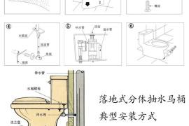 ?合理布局卫生间 卫浴DIY安装马桶指南