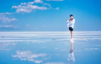 中国最大盐湖有你想要的纯净梦幻