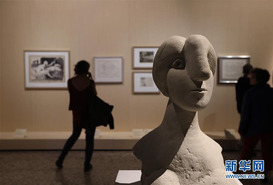 """米兰王宫举行""""毕加索·变形记""""展 共展出作品200余件"""