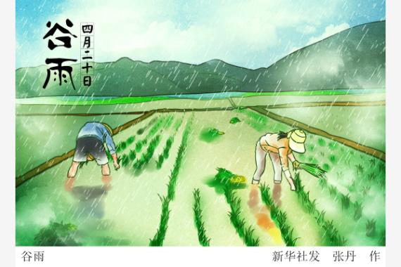 """20日16时55分""""谷雨"""":韶光易逝送春去"""