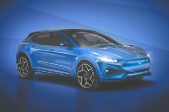 福特首款纯电动车Mach-E 今年底亮相