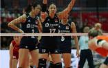 九连胜剑指冠军!有一种骄傲叫中国女排!