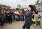 """""""到人民中去""""——中国文艺志愿者服务队走进甘肃陇南上尹村"""