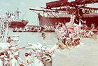 黄浦江上赛龙舟