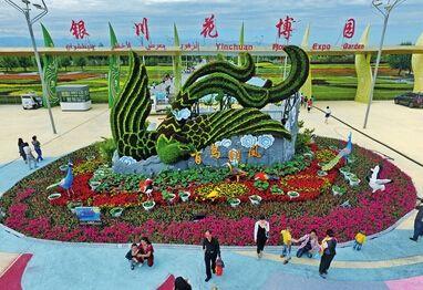 第九届花博会在银川举办 - 山野村夫 - 自由人.山野村夫