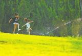 当心!郑州各大公园喷水多是中水 小心伤皮肤