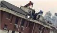 常熟火灾嫌犯藏匿于楼顶水箱 抓捕画面曝光