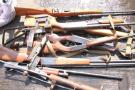 河北省公安厅举行集中销毁非法枪支主场仪式活动