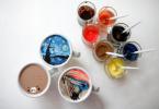 """韩国高颜值拉花艺术家:在咖啡杯中创作""""世界名画"""""""