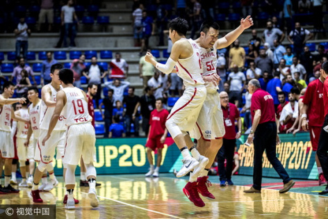 亞洲盃-末節逆轉12分!中國男籃勝敘利亞進8強