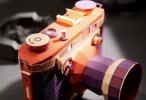 韩国艺术家用纸打造相机模型 以假乱真!