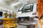 温州S1线首组列车组装顺利 预计6月底上轨调试
