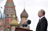 普京在阅兵式上正告西方:苏联二战贡献不容抹煞