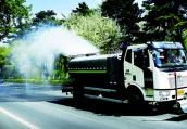 长春朝阳区街路机械化清扫率达90%