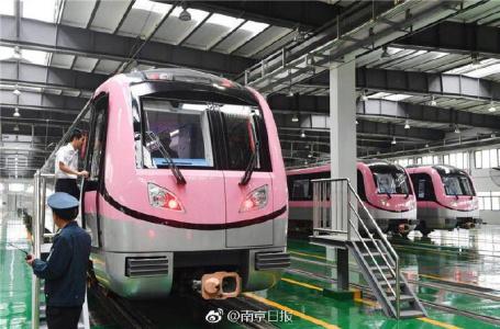 地铁宁溧线列车预计月底试运行