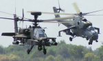 武装直升机现场开光