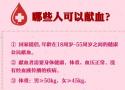关于献血的那些事儿