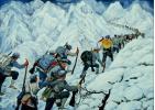 红军长征途中翻越雪山为什么难