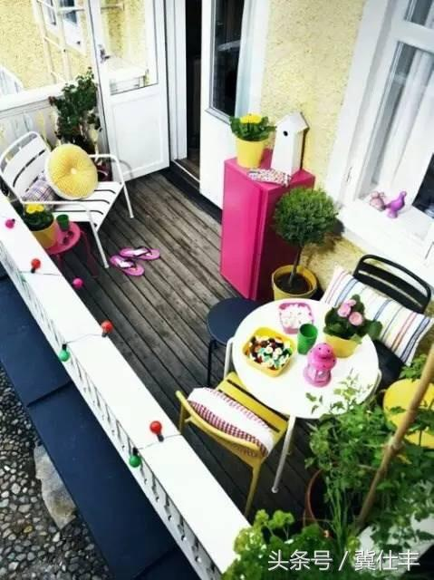 春天来了,如何让自己的小阳台拥有别墅范儿?