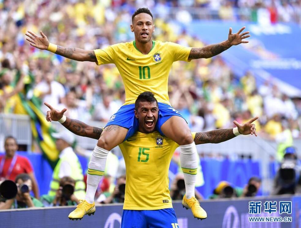 世界杯上的花式庆祝
