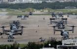 """祸不单行!日媒称驻日美军两架""""鱼鹰""""运输机紧急迫降"""