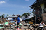 印尼地震海啸死亡人数升至1763人 本月11日结束搜救