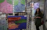 【组图】温哥华举行残障人士美术作品展