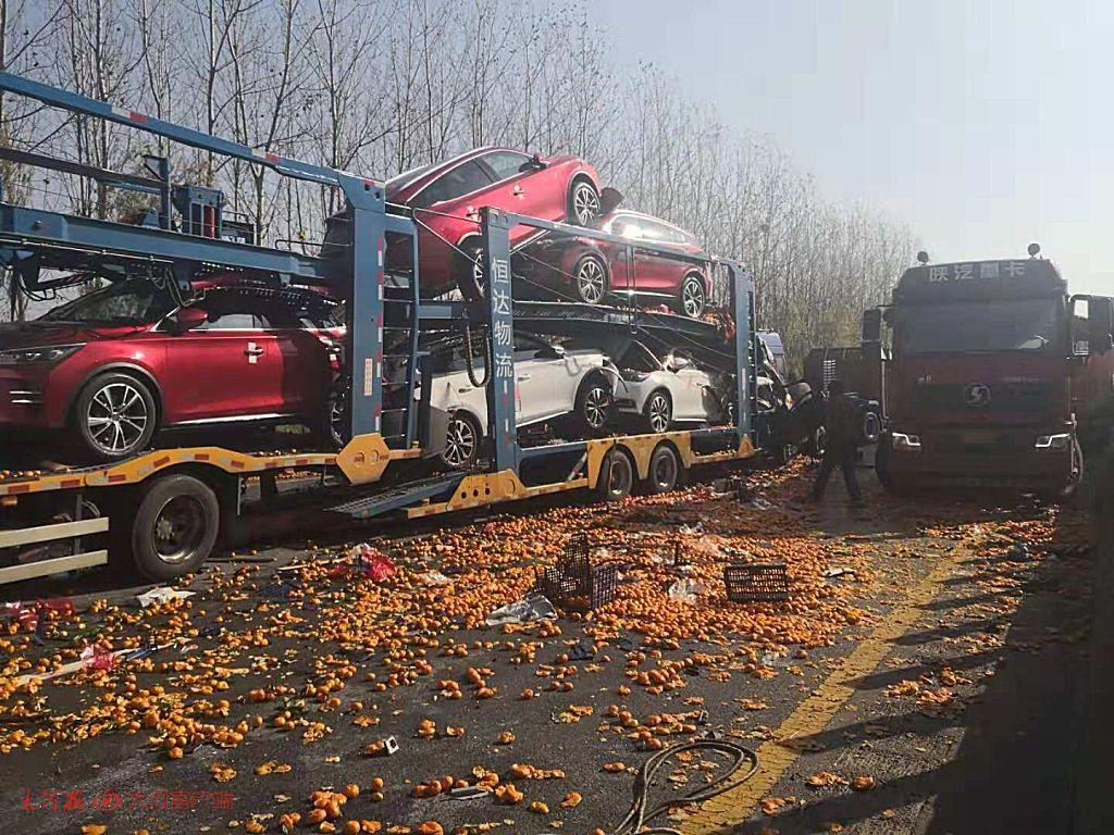 大广高速河南驻马店段20车相撞 已致3人遇难8人还在救治中