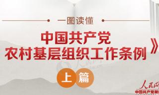 一图读懂《中国共产党农村基层组织工作条例》