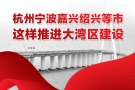 一图看懂 杭州宁波嘉兴绍兴等市这样推进大湾区建设
