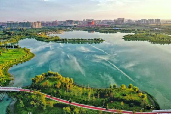 """河南兰考:开创水生态文明建设新格局 河湖相连润""""红城"""""""