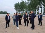 开封示范区党工委副书记、管委会主任杨峰到金耀街道走访调研